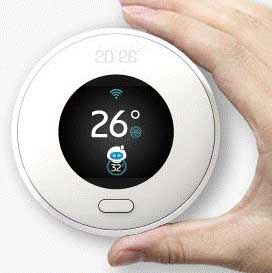 Thermostat fuzzy control technology such as PID control