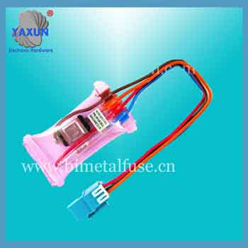 Defrost low temperature switch